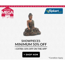Deals, Discounts & Offers on Showpieces - Min 50% off on Showpieces