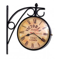 Deals, Discounts & Offers on Accessories - Trendy Ile Vintage black double side station clock