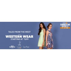 Deals, Discounts & Offers on Women Clothing - Tales from the west: Western Wear starting at Rs 699