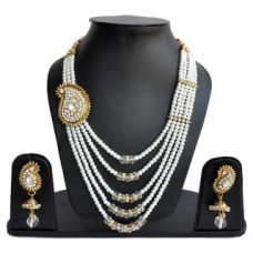 Deals, Discounts & Offers on Men - Upto 76% offer on  Necklace Set with Earrings