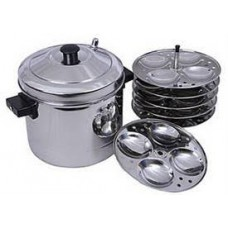 Deals, Discounts & Offers on Home & Kitchen - Murgan 6 Pcs Induction Idli Cooker at Rs 979 only