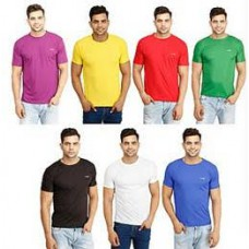 Deals, Discounts & Offers on Men Clothing - Eprilla Combo Of 7 Round Neck T Shirts at Rs 849 only