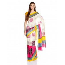 Deals, Discounts & Offers on Women Clothing - Satrang Saree With Blouse Piece offer in deals of the day