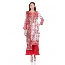Deals, Discounts & Offers on Women Clothing - Biba Women's A-Line Salwar Suit offer in deals of the day