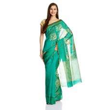 Deals, Discounts & Offers on Women Clothing - Mrignain Saree With Blouse Piece offer