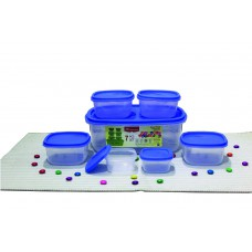 Deals, Discounts & Offers on Home & Kitchen - Princeware SF Package Container Set, 7-Pieces