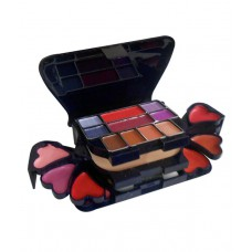 Deals, Discounts & Offers on Women - ADS Color Series Makeup Kit 8 Eyeshadow 1 Powder Cake 8 Lip Colour 2 Blusher