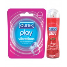 Deals, Discounts & Offers on Health & Personal Care - Durex - Play Vibrations (vibrating Ring) , Play Strawberry (combo)