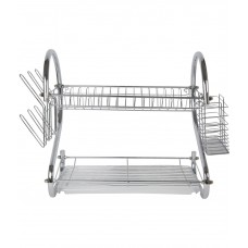 Deals, Discounts & Offers on Home & Kitchen - Pindia Glossy Stainless Steel Kitchenrack Dish Rack