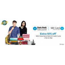 Deals, Discounts & Offers on Men - Extra 10% Off* with State Bank Debit & Credit Cards