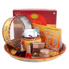 Deals, Discounts & Offers on Home Decor & Festive Needs - 15% Off on Divine Pooja Thali Gifts