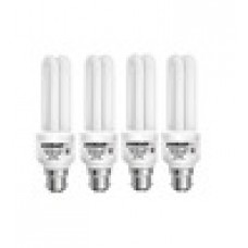 Deals, Discounts & Offers on Home Decor & Festive Needs - 51% OFF on Eveready 15Watt 2U Shaped Pack of 4 CFL