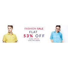 Deals, Discounts & Offers on Men Clothing - Flat 53% off on Rs. 999 & Above