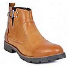 Deals, Discounts & Offers on Foot Wear - Footlodge Beige Men Boots at Rs 1499 only