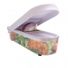 Deals, Discounts & Offers on Home & Kitchen - Ganesh Vegetable & Fruit Chopper Cutter With Chop Blade & Cleaning Tool