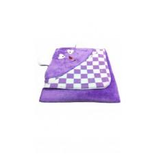 Deals, Discounts & Offers on Baby & Kids - Brandonn Purple Furry Teddy Glacier Blanket