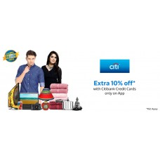Deals, Discounts & Offers on Men - Extra 10% Off* with Citibank Credit Cards