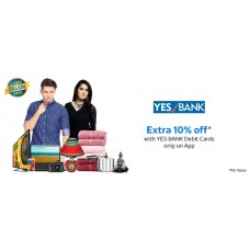 Deals, Discounts & Offers on Men - Extra 10% Off* with YES Bank Debit Cards
