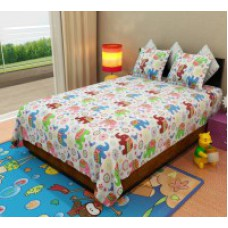 Deals, Discounts & Offers on Home Appliances - Kids Bedsheets starting @ Rs 499
