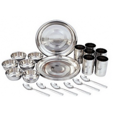 Deals, Discounts & Offers on Home Appliances - Elegante Stainless Steel 24 Pcs Dinner Set - EHPESSDS0018 at Rs 699 /-