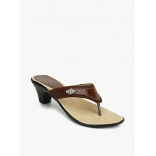 Deals, Discounts & Offers on Foot Wear - Z COLLECTION Brown Sandals offer