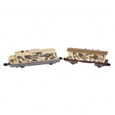 Deals, Discounts & Offers on Gaming - Power Trains Motorized Train Set Freight Military Engine