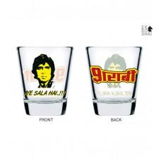 Deals, Discounts & Offers on Home Appliances - Get 53% off on  Ek Do Dhai Vote for Vodka Shot Glasses - Set of2 Pcs