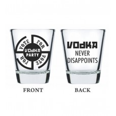 Deals, Discounts & Offers on Home Appliances - Get 53% off on  Ek Do Dhai Sharabi Shot Glasses -Set of 2 Pcs