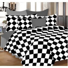 Deals, Discounts & Offers on Home Decor & Festive Needs - PrintStar Cotton Geometric Double Bedsheet