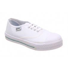 Deals, Discounts & Offers on Foot Wear - Titas White Canvas Shoes offer