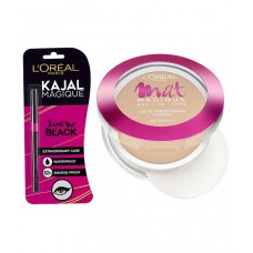 Deals, Discounts & Offers on Women - L'Oreal Paris Mat Magique All In Oneg2 Golden Ivory 6gm With Free Kajal Magique
