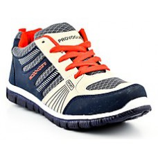 Deals, Discounts & Offers on Foot Wear - Columbus Royal Blue And Green Men Sports Shoes at Rs 499 only