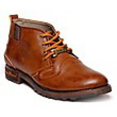 Deals, Discounts & Offers on Foot Wear - Bacca Bucci Tan Men Boots - Harley-003 at Rs 965 only