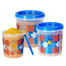 Deals, Discounts & Offers on Home & Kitchen - Ruchi Storage Container Set, 3-Pieces