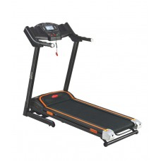 Deals, Discounts & Offers on Electronics - Energie Fitness 2HP Motorized Home Treadmill EHT-111 With Double Layer Running Board