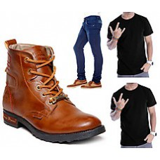 """Deals, Discounts & Offers on Foot Wear - Upto 84% OFF on """"Best Selling Footwear Combos"""" starting at Rs 599 only"""