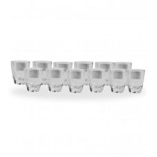 Deals, Discounts & Offers on Home Appliances - Luminarc 12 Pcs 30 Ml Goblet Set @Rs.299