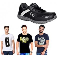 Deals, Discounts & Offers on Men - Flat 60% to 75% OFF on Men Footwear starting at Rs 199 only