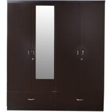 Deals, Discounts & Offers on Home & Kitchen - Hometown Utsav Engineered Wood Free Standing Wardrobe