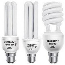 Deals, Discounts & Offers on Home Appliances - Eveready ELT 20W + ELS 27W + ELD 15W White Glass CFL Combo of 3 at Rs 522 only   (Free Shipping)