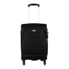 Deals, Discounts & Offers on Accessories - Verage Dublin 1301 Black Light Weight Medium 4 Wheel Trolley Luggage