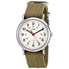 Deals, Discounts & Offers on Men - Timex Weekender Indiglo Analog Beige Dial Unisex Watch