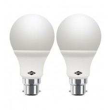Deals, Discounts & Offers on Home Appliances - HPL White 9 W Led Glo Threaded Holder - Set Of 2 At INR 439