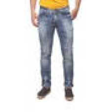 Deals, Discounts & Offers on Men Clothing - Spykar Blue Denim Slim Fit Jeans