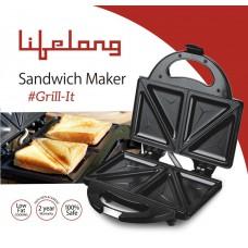 Deals, Discounts & Offers on Home & Kitchen - Lifelong 116 Triangle Plate Toast Sandwich Maker