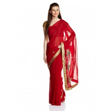 Deals, Discounts & Offers on Women Clothing - Boondh Saree with Blouse Piece offer