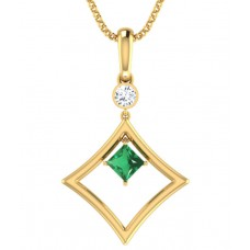 Deals, Discounts & Offers on Women - BL Jewellery House 18kt Gold Pendant