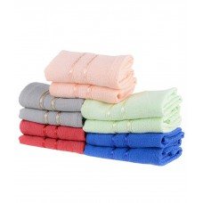 Deals, Discounts & Offers on Accessories - Flat 63% offer on 10 Towel Town Cotton Face Towels