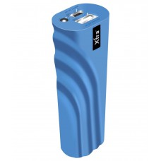 Deals, Discounts & Offers on Mobile Accessories - XTRA ACE Light Weight Portable Power Bank 2200 mAh Blue with LED Torch