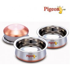 Deals, Discounts & Offers on Home & Kitchen - Pigeon Baby Handi Dish- 3 Pc Set at Flat 36% off